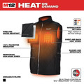 Milwaukee 303B-203X M12 12V Li-Ion Heated AXIS Vest (Vest Only) - 3XL image number 3
