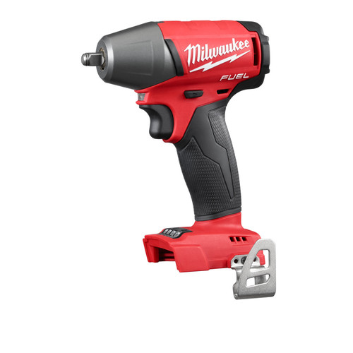 Milwaukee 2754-20 FUEL M18 18V Cordless Lithium-Ion 3/8 in. Compact Impact Wrench with Friction Ring (Bare Tool)