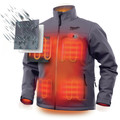 Milwaukee 202G-203X M12 Heated TOUGHSHELL Jacket (Jacket Only) - Gray, 3X image number 4