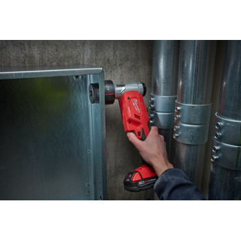 Milwaukee 2677-21 M18 Force Logic Cordless Lithium-Ion 6T 1/2 in. - 2 in. Knockout Tool Kit image number 7