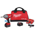 Milwaukee 2769-22 M18 FUEL Lithium-Ion 1/2 in. Extended Anvil Controlled Torque Impact Wrench Kit with ONE-KEY (5 Ah) image number 1