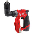 Milwaukee 2505-24-CPO M12 REDLITHIUM CP 1.5 Ah Lithium-Ion Compact Battery (2-Pack) plus Shockwave 15-Piece Tin Kit plus M12 FUEL Lithium-Ion 3/8 in. Cordless Installation Drill image number 5