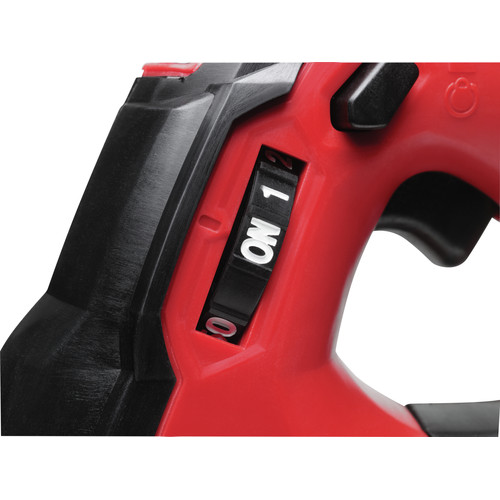 Milwaukee 2646-22CT M18 18V Cordless Lithium-Ion 2-Speed Grease Gun with 2 Batteries image number 4