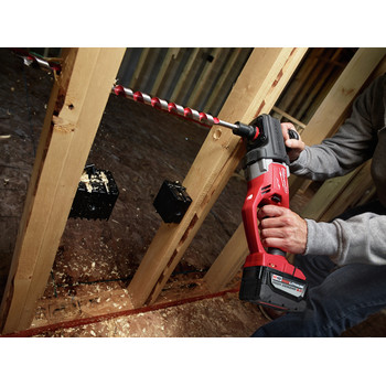 Milwaukee 2708-22HD M18 FUEL HOLE HAWG Lithium-Ion 1/2 in. Cordless Right Angle Drill Kit with QUIK-LOK (9 Ah) image number 10