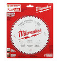 Milwaukee 48-40-0726 7-1/4 in. 40T Fine Finish Circular Saw Blade image number 1