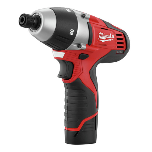 Milwaukee 2455-22 M12 12V Cordless Lithium-Ion No-Hub Driver Kit image number 1