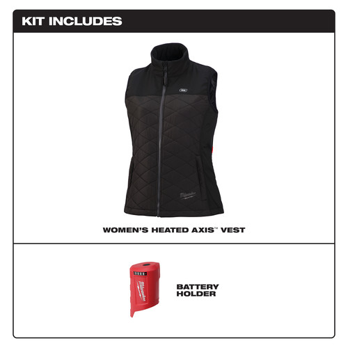 Milwaukee 333B-20XL M12 12V Li-Ion Heated Women's AXIS Vest (Vest Only) image number 1