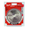 Milwaukee 48-40-4070 5-3/8 in. MetalTech Ferrous Circular Saw Blade (30 Tooth) image number 1
