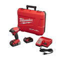 Factory Reconditioned Milwaukee 2760-82CT M18 FUEL SURGE 2.0 Ah 1/4 in. Hex Hydraulic Impact Driver Kit