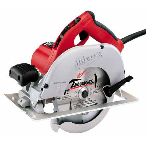 Factory Reconditioned Milwaukee 6391-81 7-1/4 in. Left Blade Circular Saw with Case