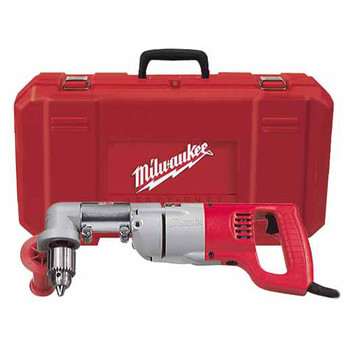 Milwaukee 3102-6 7 Amp 2-Speed 1/2 in. Corded Right Angle Drill with D-Handle and Case