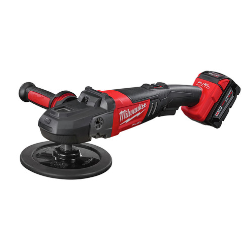 Milwaukee 2738-22 M18 FUEL Lithium-Ion 7 in. Variable Speed Polisher Kit image number 2