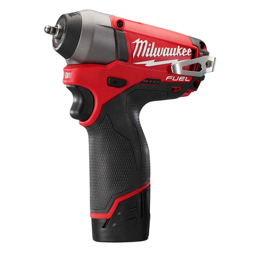 Milwaukee 2452-22 M12 FUEL Cordless Lithium-Ion 1/4 in. Impact Wrench image number 1