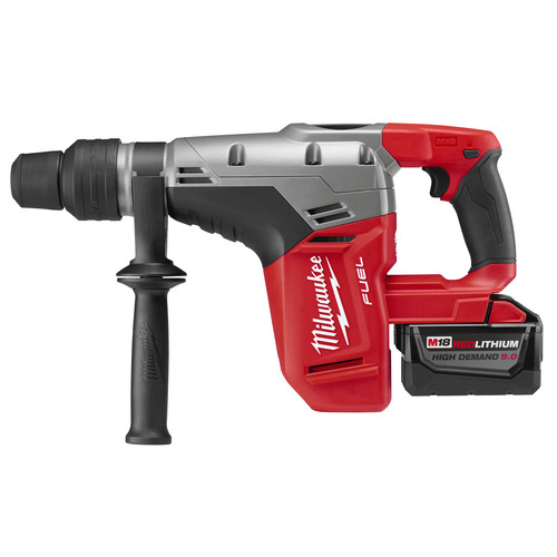 Factory Reconditioned Milwaukee 2717-82HD M18 FUEL 9.0 Ah Lithium-Ion 1-9/16 in. Rotary Hammer Kit with 2 Batteries image number 1