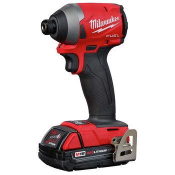 Milwaukee 2853-22CT M18 FUEL 1/4 in. Hex Impact Driver CP Kit image number 2