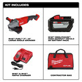 Milwaukee 2785-21HD M18 FUEL 7 in. / 9 in. Large Angle Grinder Kit image number 16