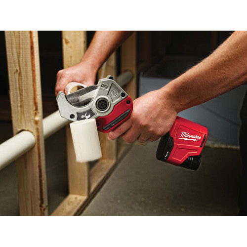 Milwaukee 2470-21 M12 12V Cordless Lithium-Ion PVC Shear Kit image number 7