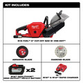 Milwaukee 2786-22HD M18 FUEL Lithium-Ion 9 in. Cut-Off Saw Kit with ONE-KEY (12 Ah) image number 6
