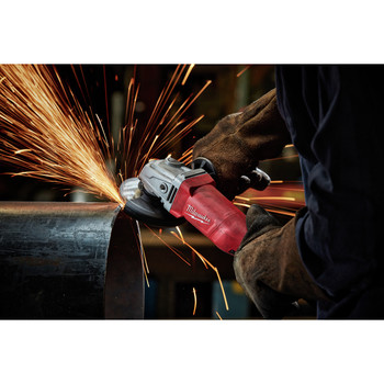 Milwaukee 6142-31 4-1/2 in. Small Angle Grinder No-Lock image number 2