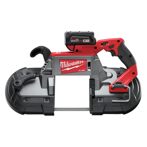 Factory Reconditioned Milwaukee 2729-82 M18 FUEL Cordless Lithium-Ion Deep Cut Band Saw with 2 XC 5.0 Ah Batteries image number 0
