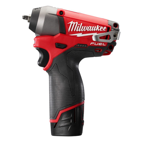 Milwaukee 2452-22 M12 FUEL Cordless Lithium-Ion 1/4 in. Impact Wrench image number 2