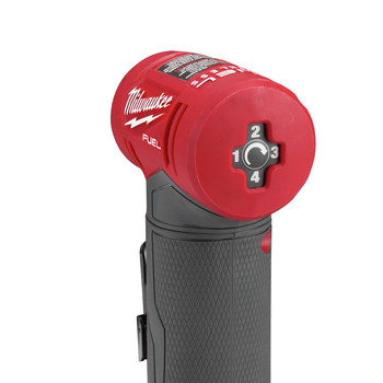 Milwaukee 2485-22 M12 FUEL Lithium-Ion Right Angle Die Grinder Kit (2 Ah) image number 3
