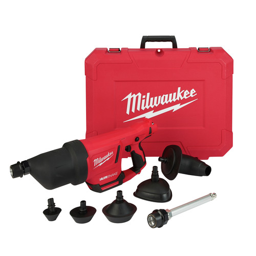 Milwaukee 2572B-20 M12 AIRSNAKE Drain Cleaning Air Gun (Tool Only) image number 0