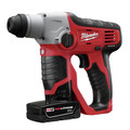 Milwaukee 2412-22XC M12 Lithium-Ion 1/2 in. SDS Plus Rotary Hammer Kit with 2 XC Batteries image number 2