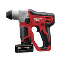 Milwaukee 2412-22XC M12 Lithium-Ion 1/2 in. SDS Plus Rotary Hammer Kit with 2 XC Batteries image number 1