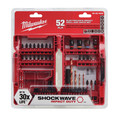 Milwaukee 48-32-4025 52 Pc Shockwave Electrician's Drill and Drive Set image number 1