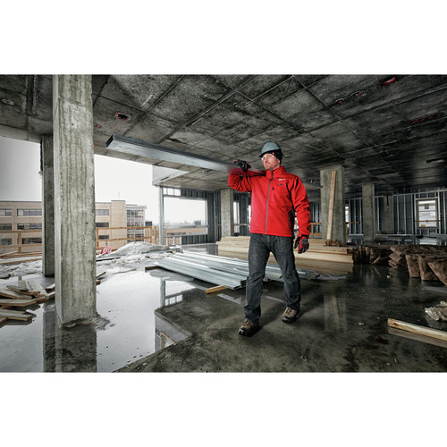 Milwaukee 202R-202X M12 12V Li-Ion Heated ToughShell Jacket (Jacket Only) - 2XL image number 8