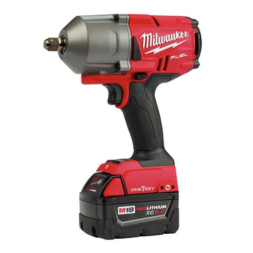 Factory Reconditioned Milwaukee 2862-82 M18 FUEL with ONEKEY High Torque Impact Wrench 1/2 in. Pin Detent Kit image number 3