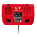 Milwaukee 48-59-1802 M18 Dual Bay Simultaneous Rapid Lithium-Ion Charger image number 13