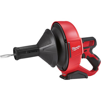Milwaukee 2571-20 12V Cordless Li-Ion Drain Snake with Bucket (Tool Only) image number 2