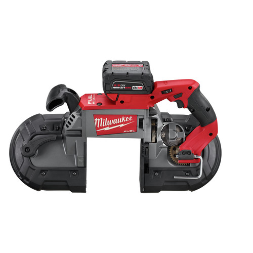Factory Reconditioned Milwaukee 2729-82 M18 FUEL Cordless Lithium-Ion Deep Cut Band Saw with 2 XC 5.0 Ah Batteries image number 4