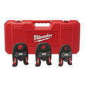 Milwaukee 49-16-2696 M18 3-Piece Black Iron Press Jaw Set