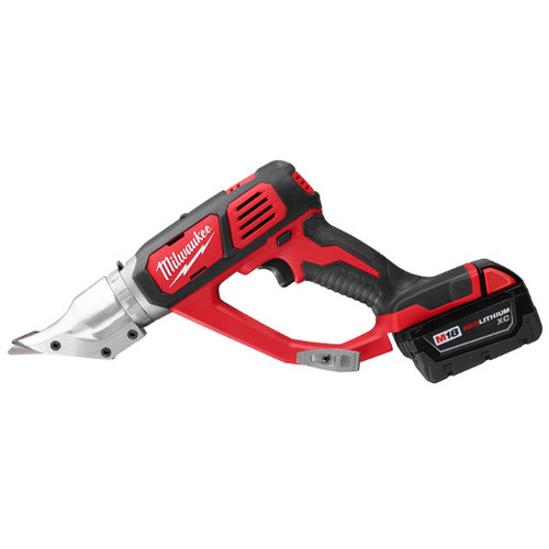 Factory Reconditioned Milwaukee 2635-82 M18 3.0 Ah Cordless Lithium-Ion 18 Gauge Double Cut Shear