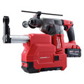 Milwaukee 2712-22DE M18 FUEL Lithium-Ion 1 in. SDS Plus Rotary Hammer and HAMMERVAC Dedicated Dust Extractor Kit image number 3