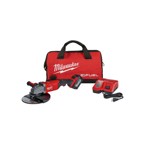 Milwaukee 2785-21HD M18 FUEL 7 in. / 9 in. Large Angle Grinder Kit image number 0