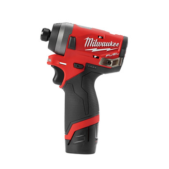 Milwaukee 2553-22 M12 FUEL 1/4 in. Hex Impact Driver Kit image number 1