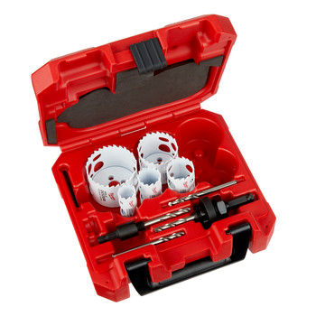 Milwaukee 49-22-3079 9-Piece Hole Dozer with Carbide Teeth Hole Saw Kit