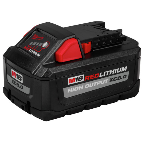 Milwaukee 48-11-1880 M18 REDLITHIUM HIGH OUTPUT XC 8 Ah Lithium-Ion Battery image number 0