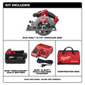 Milwaukee 2730-21 M18 FUEL Cordless 6-1/2 in. Circular Saw with (1) REDLITHIUM Battery image number 1
