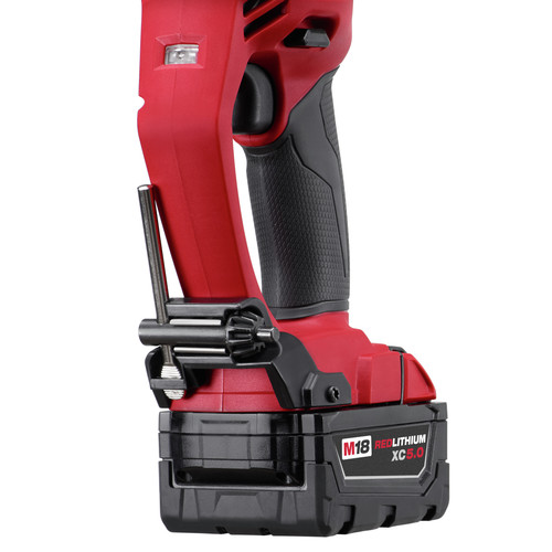 Milwaukee 2708-22 M18 FUEL HOLE HAWG Lithium-Ion 1/2 in. Cordless Right Angle Drill Kit with QUIK-LOK (5 Ah) image number 3