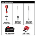 Milwaukee 2825-21PS M18 FUEL 10 in. Pole Saw Kit with QUIK-LOK image number 1