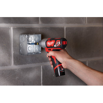 Milwaukee 2462-20 M12 12V Cordless Lithium-Ion 1/4 in. Hex Impact Driver (Tool Only) image number 6