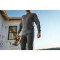 Milwaukee 602G-S Heavy Duty Long Sleeve Pocket Tee Shirt - Gray, Small image number 5