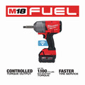 Milwaukee 2769-22 M18 FUEL Lithium-Ion 1/2 in. Extended Anvil Controlled Torque Impact Wrench Kit with ONE-KEY (5 Ah) image number 7