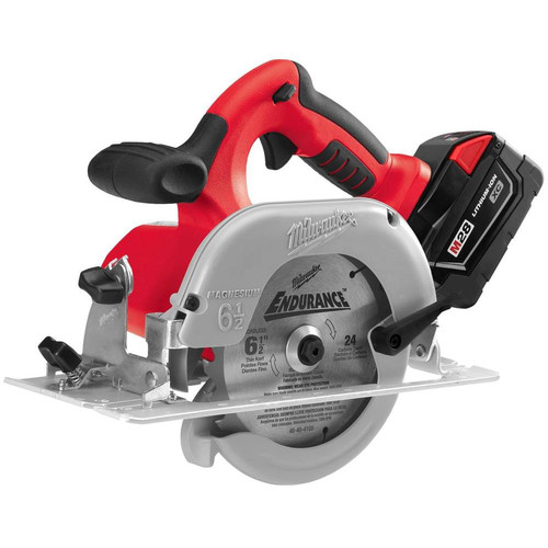 Factory Reconditioned Milwaukee 0730-82 28V Cordless M28 Lithium-Ion 6-1/2 in. Circular Saw with Case