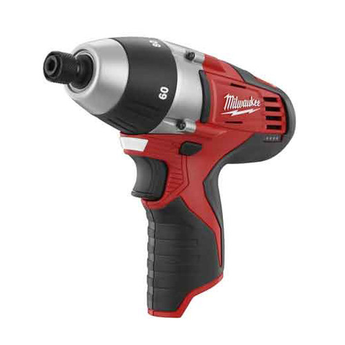 Milwaukee 2455-20 M12 12V Cordless Lithium-Ion No Hub Driver (Tool Only) image number 0